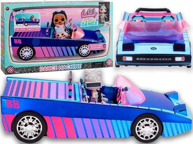 LOL Surprise CAR Machine POOL COUPE AUTO Z Basenem i lalką NOWOŚĆ 2021