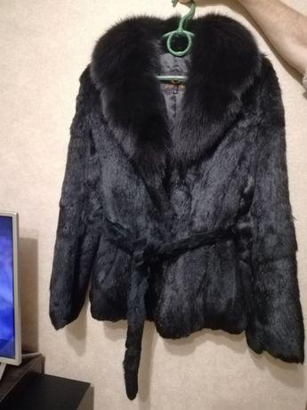 Куртка курточка шуба шубка кролик
