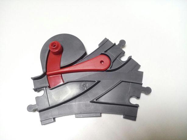 Стрелка для железной дороги рельсы lego duplo