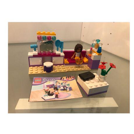 Zestaw lego friends sypialnia Andreii 41009