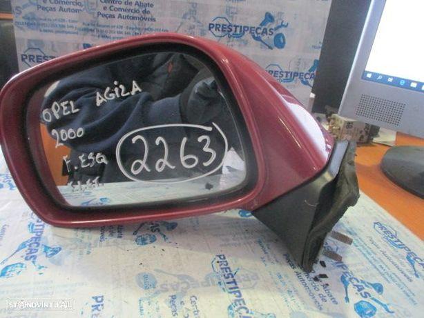 Espelho ESP2263 OPEL / AGILA / 2000 / ESQ / ELETRICO / 3 PINOS /