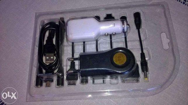 Carregador de telemóveis