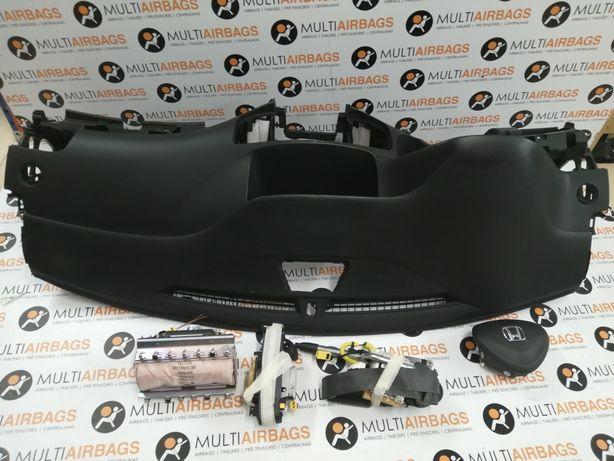 Jogo de airbag com tablier Honda Accord VIII 8