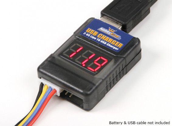 HobbyKing LIPO to USB (2S~6S) DC 7.5~25.2V na 5V 1A