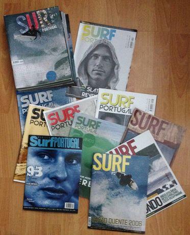 Revistas Surf Portugal (números raros para coleccionadores)