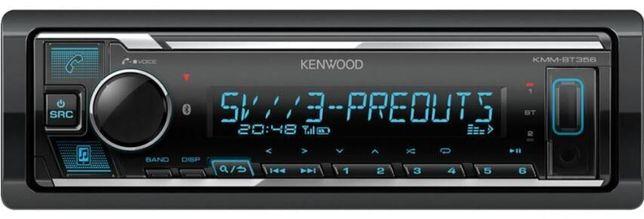 Kenwood KMM-BT356 Автомагнитола с Bluetooth, DSP Гарантия 1 год.