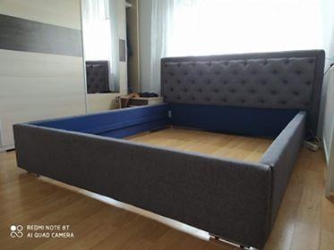 Sypialnia głęboko pikowana