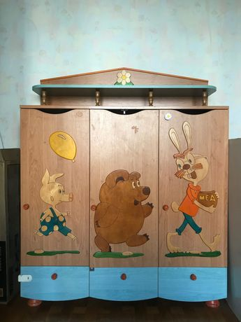 Шкаф детский в отличном состоянии
