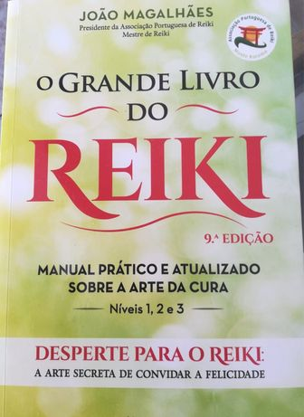 O Grande Livro do Reiki, livro em segunda mão