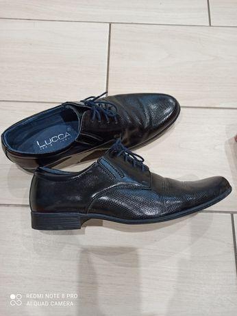Buty skórzane rozmiar 39