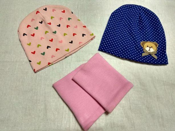 Дитячі весняні шапочки + хомут
