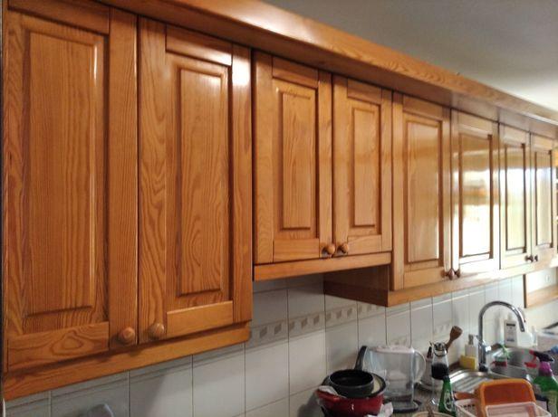 Kuchnia meble kuchenne lite drewno sosna