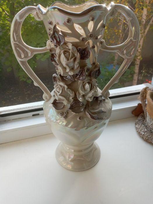 Декоративная ваза керамика Одесса - изображение 1