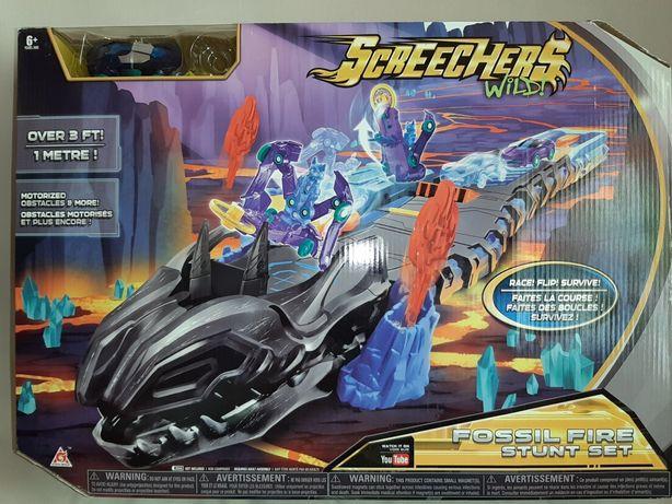 Набор ТРЕК Огненный дракон Screechers Wild Скричер Оригинал