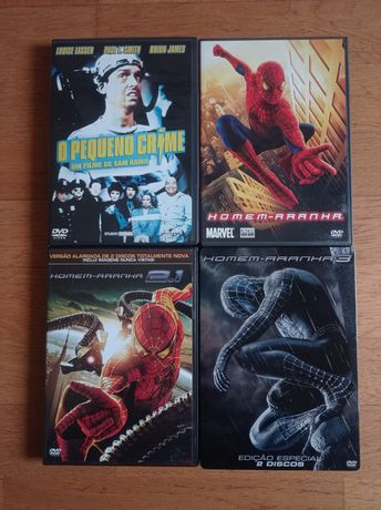 Sam Raimi | Homem Aranha Trilogia Steelbook | Pequeno Crime
