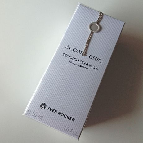 YVES ROCHER Eau de Parfum ACCORD CHIC Secrets D'Essences 50ml - SELADO