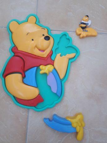 Пазлы для малышей (пластик) Винни Пух