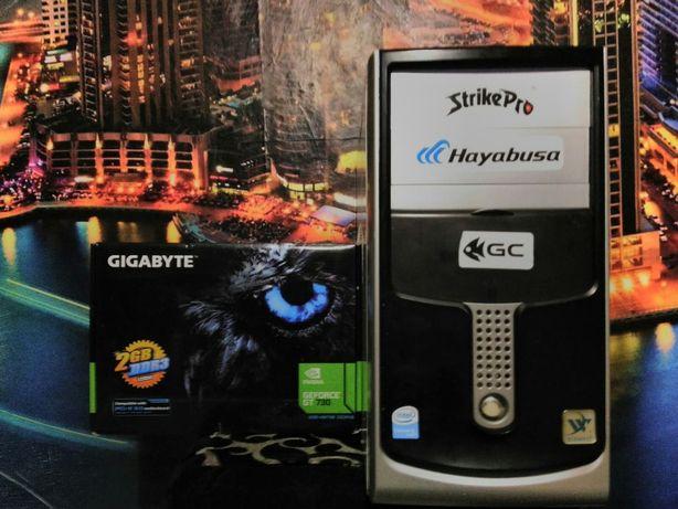 Продам компьютер оперативки-4G DD3 Nvidia Geforce GT730 2gb GDDR3