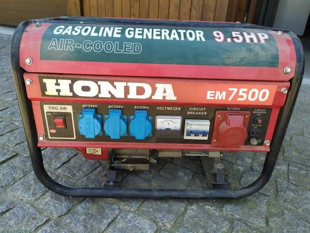 Gerador gasolina Honda 9.5hp