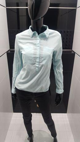 Błękitna koszula rozm 36