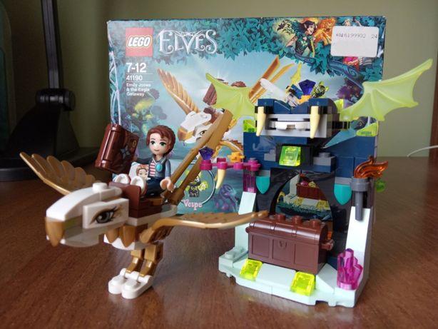 Конструктор LEGO Elves Побег Эмили на орле (41190) оригинал