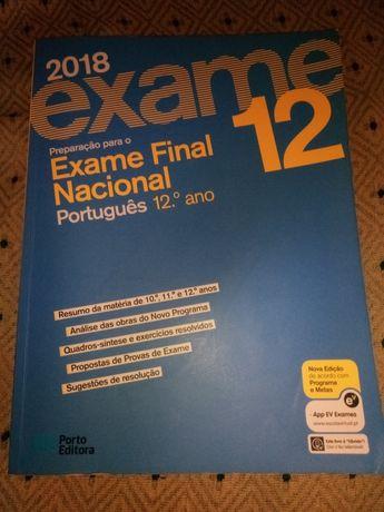 Livro de preparação para o exame nacional de português