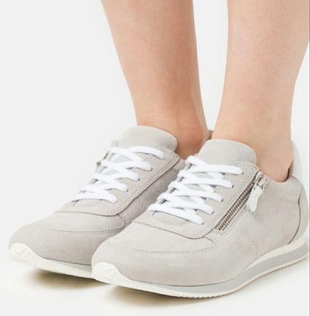 Anna Field skórzane snaekersy nowe buty sportowe adidasy z zamkiem 39