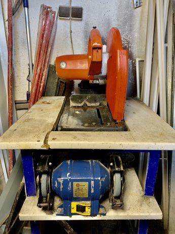 Продам Точильный станок + Станок для резки металла Makita 220v