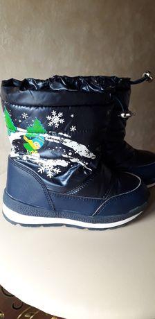 Зимові чобітки 28р.