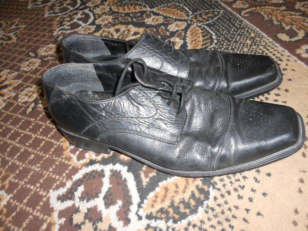 чоловічі туфлі шкіра 44 розмір б у з Німеччини