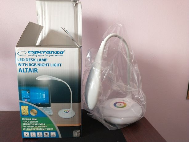 Lampka LED Biurkowa RGB 256 kolorów Podświetlenia