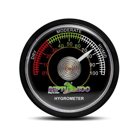 Medidor de Humidade (Higrómetro) analógico Reptizoo