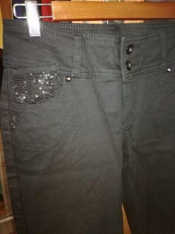 Spodnie z cekinami nowe