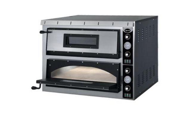 Печь для пиццы Apach AML44 + в ПОДАРОК стойка под печь