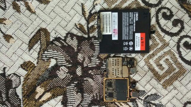 Продам плата робоча сяоми mi 4с 3/32 +батарея + зарядний порт