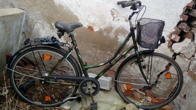 Rower damka 7 biegowy osprzęt Shimano