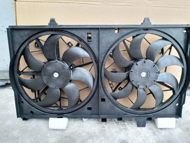 Диффузор (вентилятор) радиатора Nissan Rogue X-Trail 2014-2018