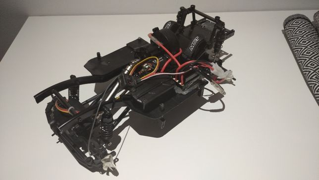 rc trial MST MSA Injora nowe podwozie