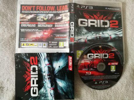 Gra wyścigowa na ps3 grid 2 od twórców dirt playstation