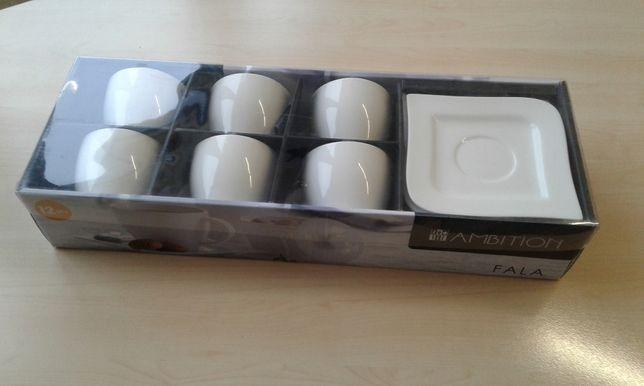AMBITION FALA komplet kawowy 12 elementów dla 6 osób