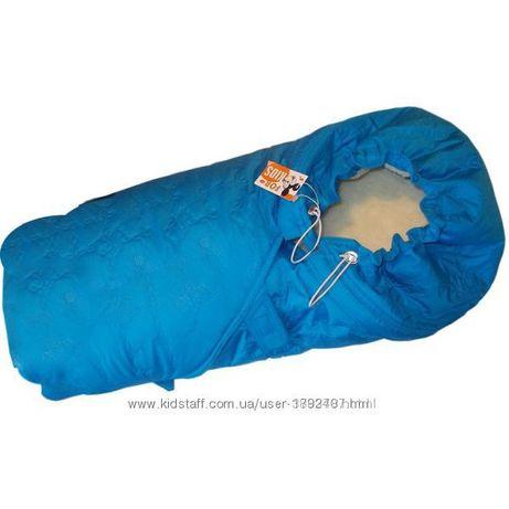 Конверт-одеяло на овчине For kids