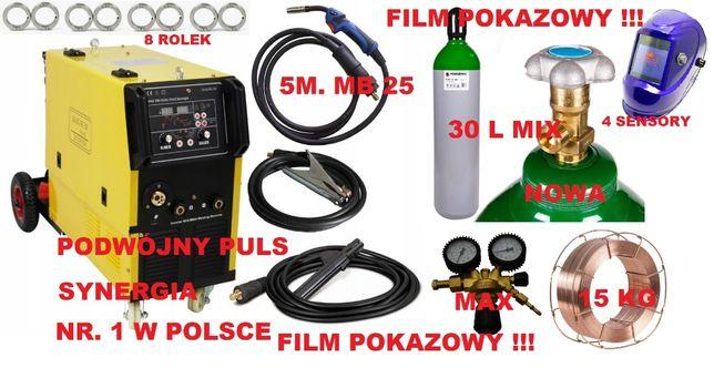 migomat MIG 280 DUAL PULS SYNERGIA 4x4 magnum zestaw darmowa dostawa