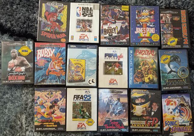 Jogos Mega Drive (sem manual)