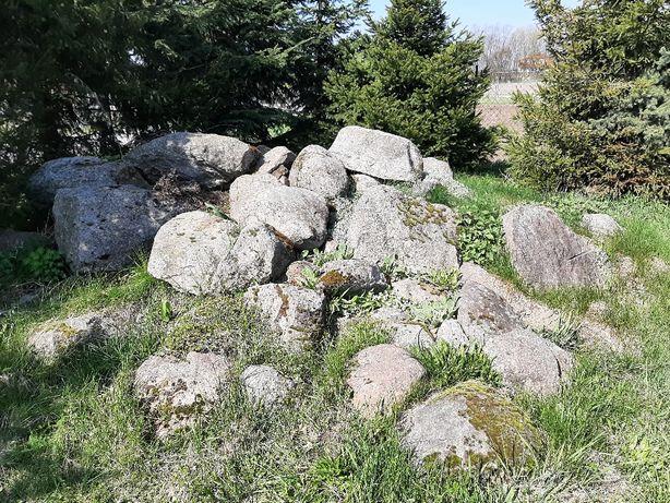 Duże kamienie głazy skalniak
