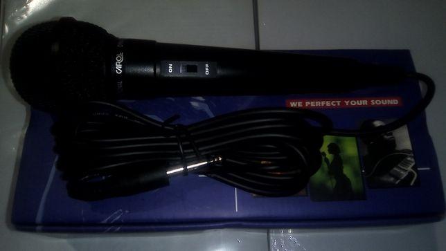 Микрофон-КАРАОКЕ Проводной CAROL GS-35! Комутатор TP-LINK TL-SF1008D!