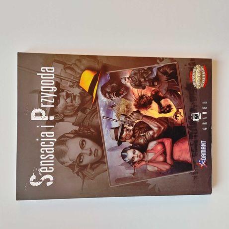 Savage Worlds: Sensacja i Przygoda - podręcznik RPG gra fabularna