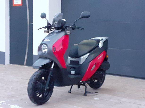 Daelim Witty 50cc 2016r, transport, raty