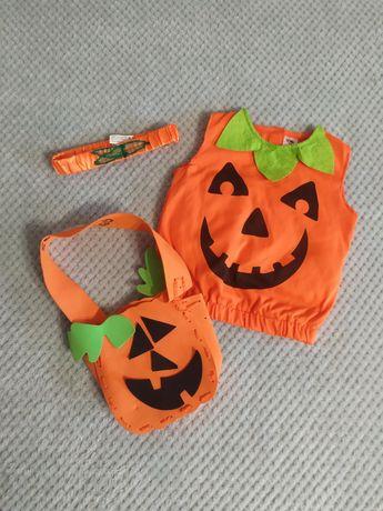 Костюм тыквы на Хеллоуин на 2-3 года