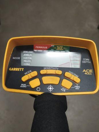 Металлоискатель Garrett ACE 400i, металошукач, металлодетектор.
