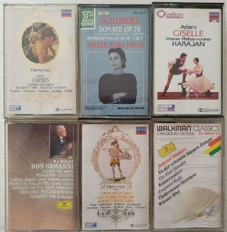 Cassetes Música Clássica